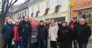 Traditioneller Neujahrsinfostand der SPD Bad Dürkheim