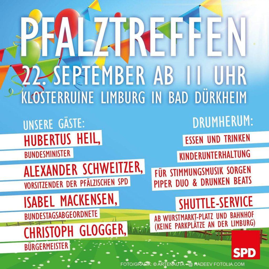 SPD Pfalztreffen in Bad Dürkheim 2019