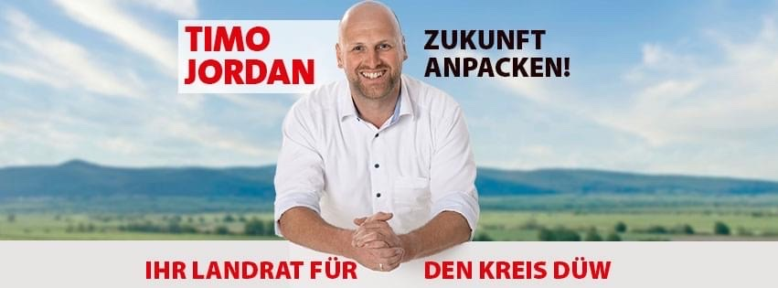 DÜW Landratskandidat Timo Jordan