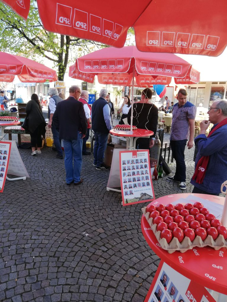 Oster-Info-Stand SPD Bad Dürkheim