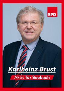Ortsvorsteherkandidat Seebach Karlheinz Brust
