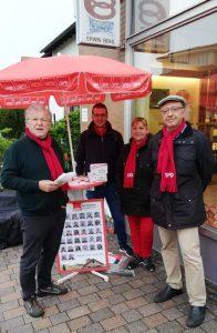 Infostand SPD Bad Dürkheim Seebach