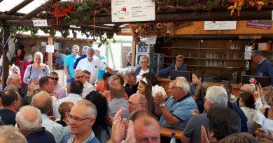 Traditioneller SPD Wurstmarktstammtisch