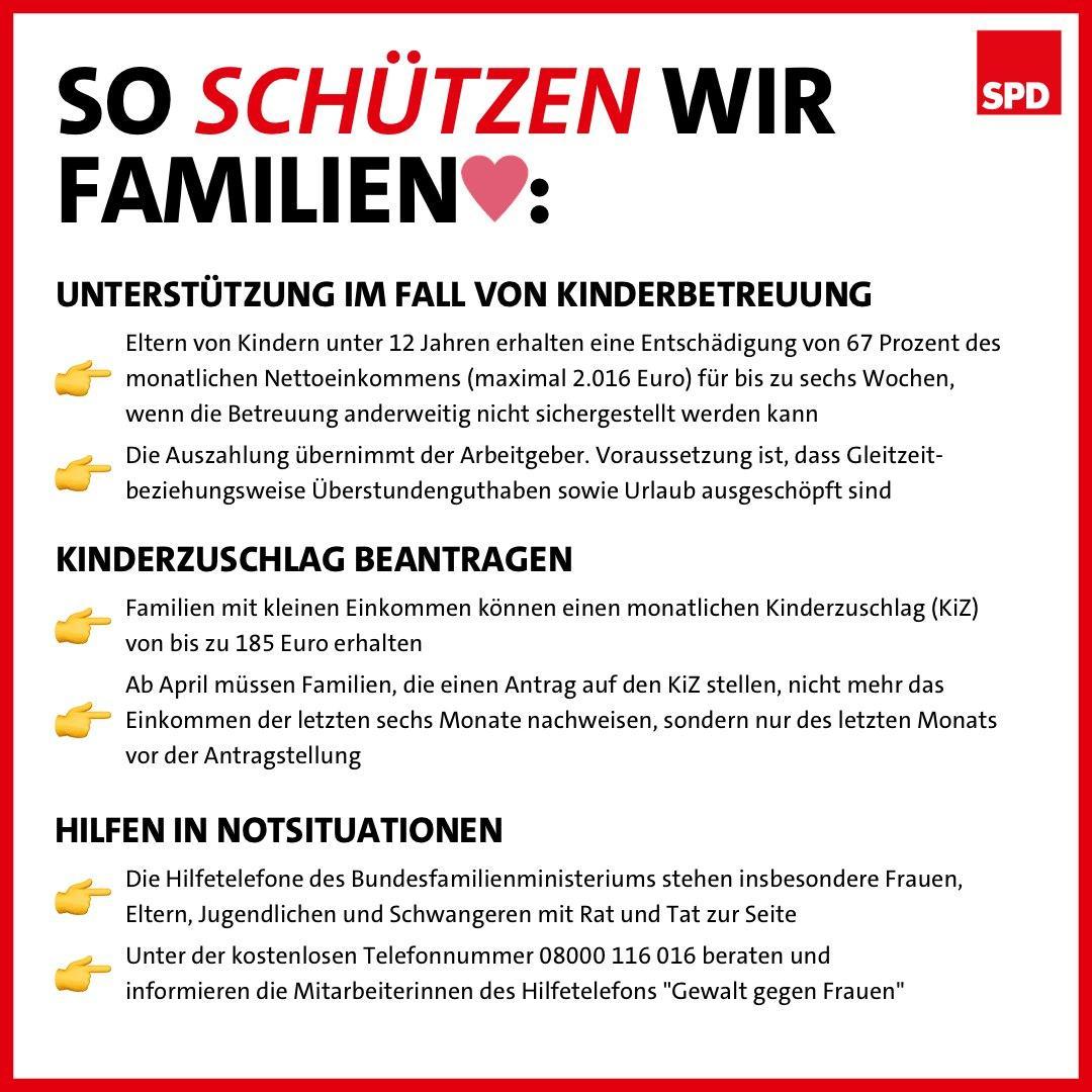 SPD: So Schützen Wir Familien