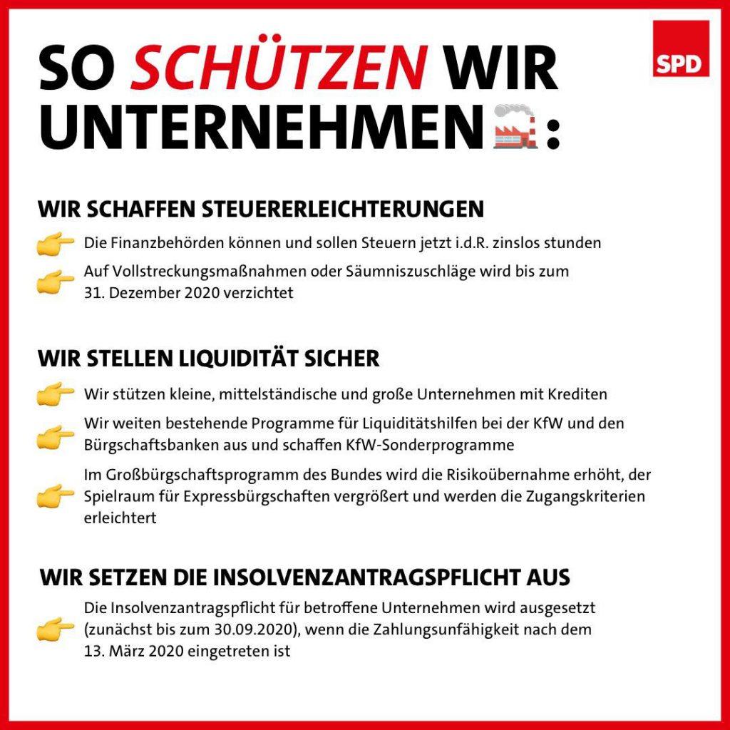 SPD So Schützen Wir Unternehmen