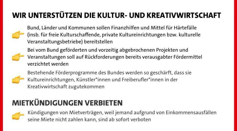 SPD So schützen wir KünstelerInnen