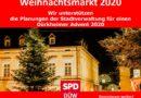 SPD Bad Dürkheim unterstützt Weihnachtsmarkt 2020