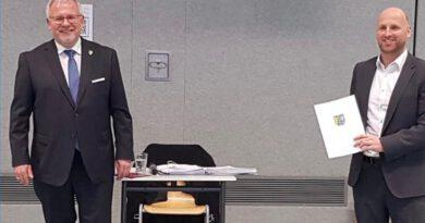 Tim Jordan Ernennung Beigeordneter